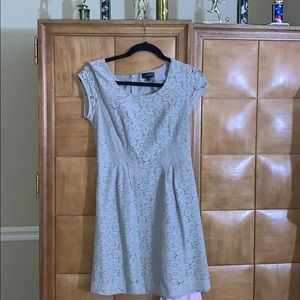 The Limited Cute Patterned Grey Dress